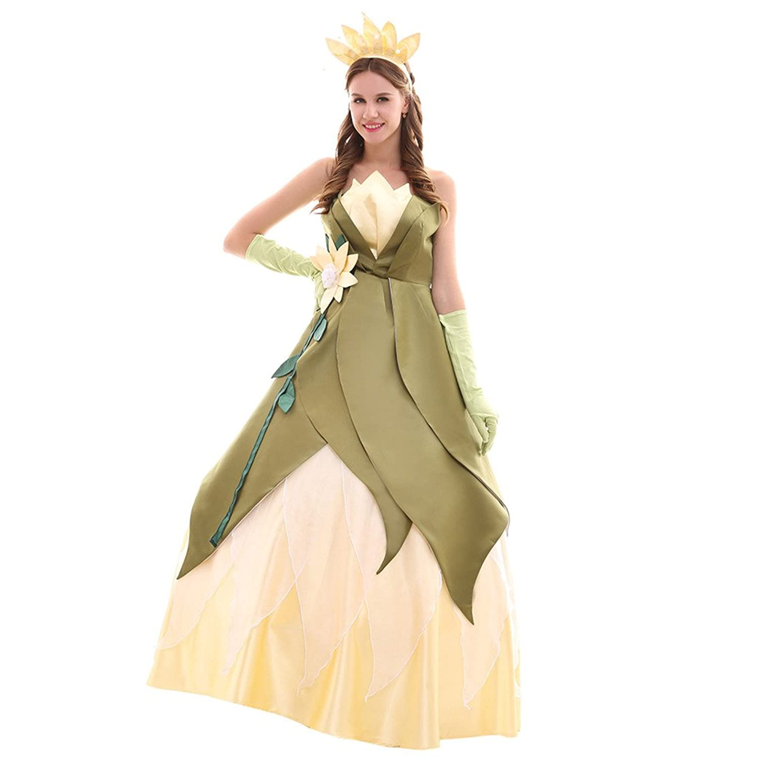 Amazon.com: Horcute gorgeous Princess Cosplay Dress Costume For ...