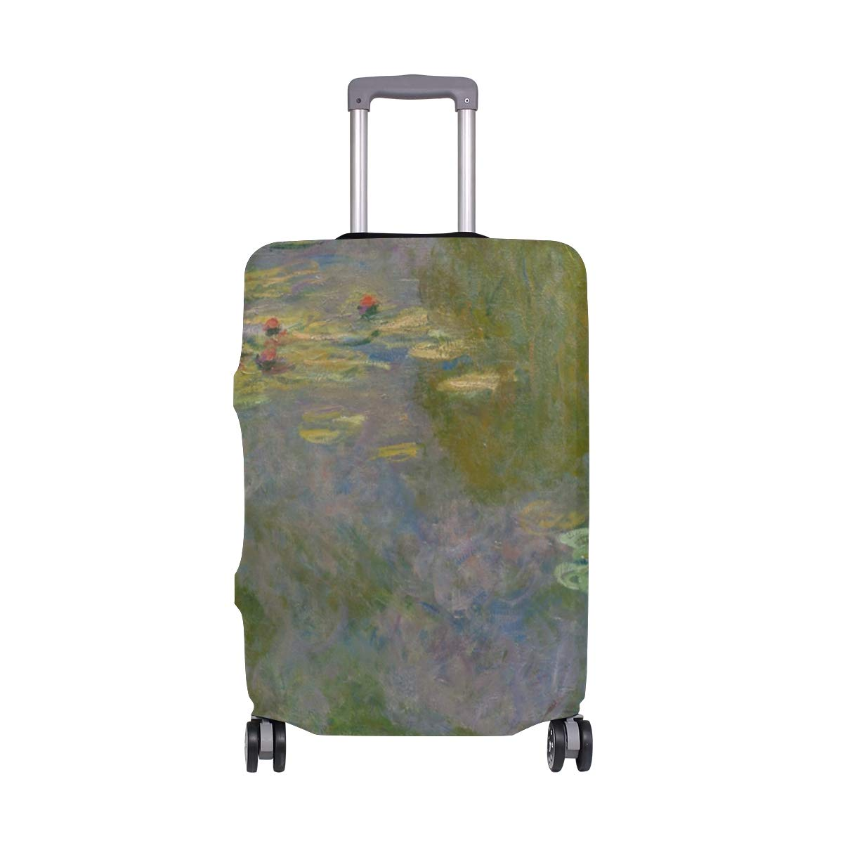Travel Luggage Cover Spandex Suitcase Protector Washable Baggage Covers Ancient Mexican Girl Portrait