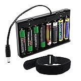 abcGoodefg AA 12V Battery Holder Case Plastic