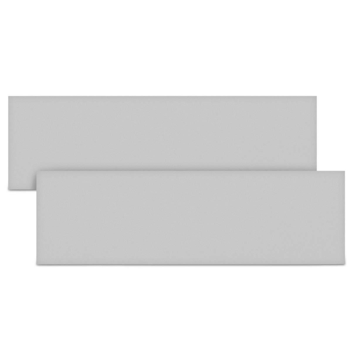 Garagenwand T/ürkantenschoner in Grau Autot/ür Schutz Garage Set selbstklebend kwmobile 4X Auto T/ürkantenschutz Wandschutz 40x12x1,5cm