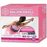 Gaiam Pink Sml-Total Body Balanceball Kit (55Cm/Pink)