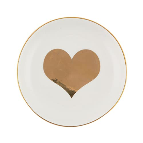 Sass and Belle Gold Heart Trinket Dish