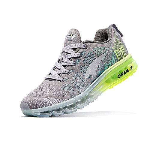 Men's Cushion Casual Air Shoes And Running Sport Trail Onemix Women's Lightweight Gray dw7nXq