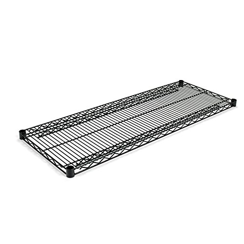 Alera Shelves Extra (Alera SW584818BL  Industrial Extra Wire Shelves, 48w x 18d, Black (Case of 2))