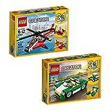 3 in 1 lego sets - LEGO Creator Creator Bundle 2 66575 Building Kit (224 Piece)