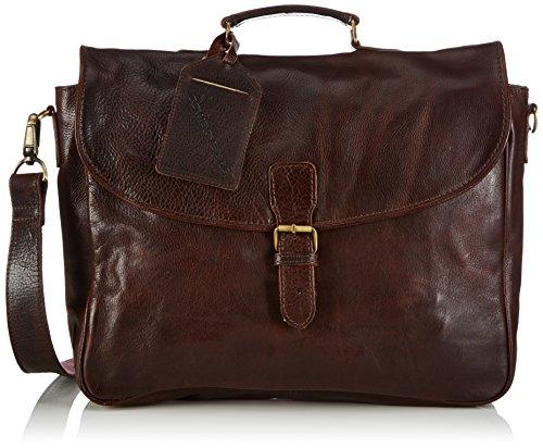 Cowboysbag Bag Miami, Borsa A Tracolla, unisex Marrone (Brown 500)