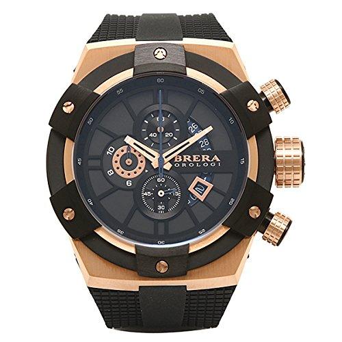 (ブレラ オロロジ) BRERA OROLOGI ブレラオロロジ 時計 メンズ BRERA OROLOGI BRSSC4902 SUPERSPORTIVO 腕時計 ウォッチ ブラック[並行輸入品] B011BMR436
