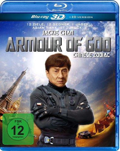 Armour of God ( Chinese Zodiac ) ( Sap ji sang ciu ) (3D & 2D) [ NON-USA FORMAT, Blu-Ray, Reg.B Import - Germany ]
