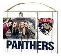 "KH Sports Fan 10"" x 8"" Florida Panthers Clip It Weathered Logo NHL Photo Frame"