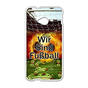Happy Wir Sind Basketball Cell Phone Case for HTC One M7