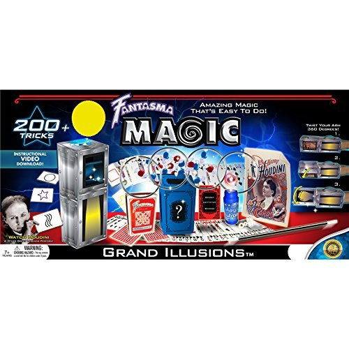 Fantasma Complete Grand Illusions Magic Set – Over 200+ Tricks Kit