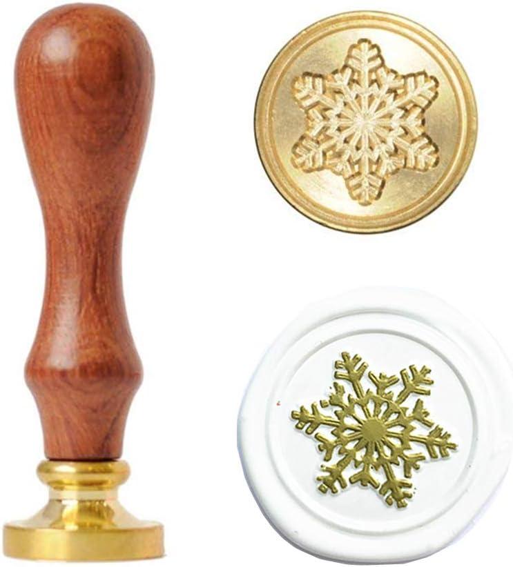 Landscape Wax Seal Head Literary Square Sealing Head Wax Seal Accessories Single 2.5 Cm Wax Seal Brass Head Invitation Wax Seal Stamp