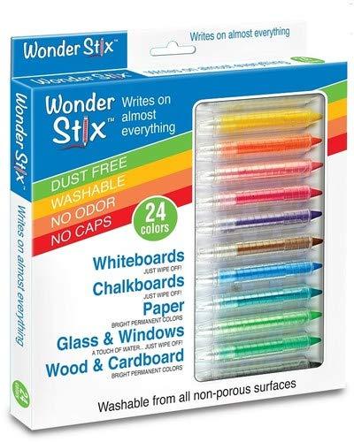 Wonder Stix 24pk Children's Drawing Chalks by Kwik Stix, 3.5' (TPG-636)