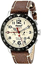 Ingersoll Men's IN3224CR Bison No. 69 Analog Display Automatic Self Wind Brown Watch