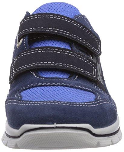 Ricosta Jeremy - zapatilla deportiva de piel niño azul - Blau (reef/royal 173)