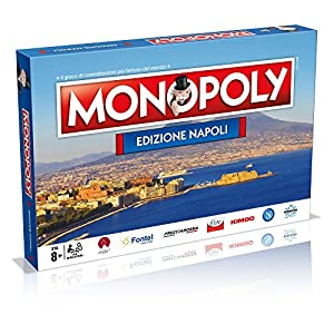 Winning Moves - City of Napoli Board Game - Monopoly Collectors Edition, 31110