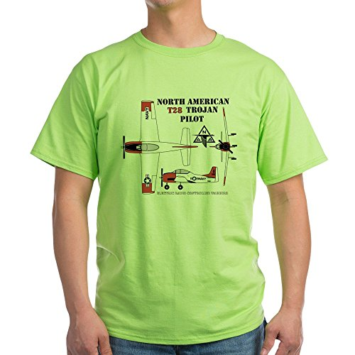 CafePress T28 Trojan RC Airplane - 100% Cotton T-Shirt