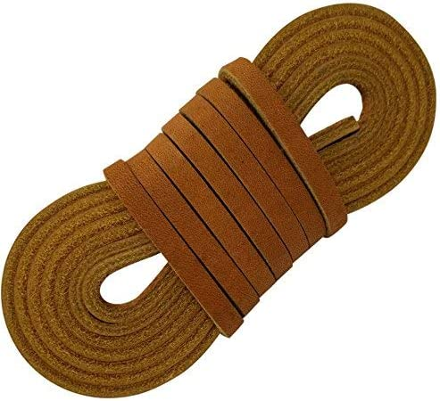 Leather Strap 3//8 Inch Wide 72 Inches Long by TOFL Neutral