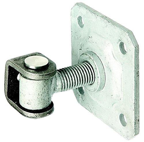 GAH-Alberts 418397 Torband mit Platte zum Aufschrauben Gewinde: M16 Verbindungsbolzen und Sicherungsring aus Edelstahl feuerverzinkte Augenschraube