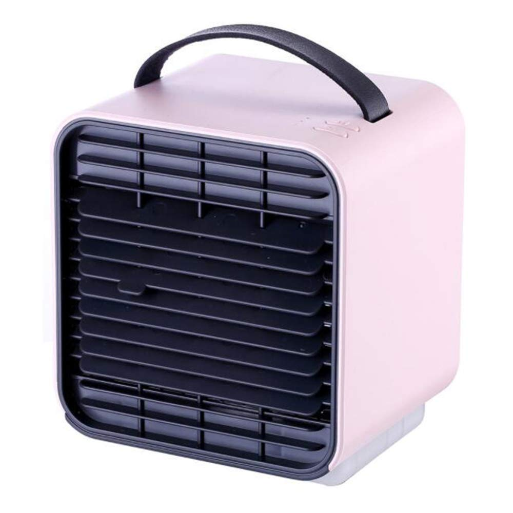Bigmai Portable Personal Space Air Cooler, humidifier and Purifier, Desktop Cooling Fan for Office Home Outdoor Travel (Pink) by Bigmai