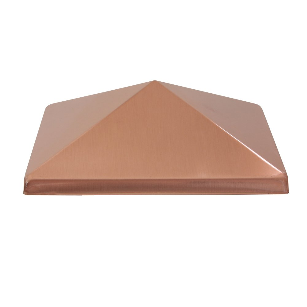 Pine Top Sales 511-S0035 Stainless Steel Post Cap, Copper Finish