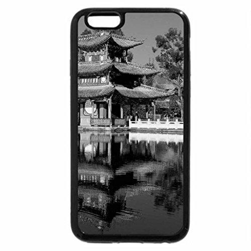 iPhone 6S Plus Case, iPhone 6 Plus Case (Black & White) - Black Dragon Pool Park - Beijing China