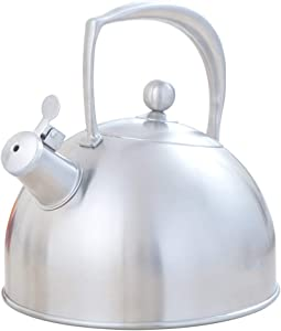 Induction Cooker Kettle 304 Stainless Steel Teapot Household Gas Universal Whistle Ring Small 3L