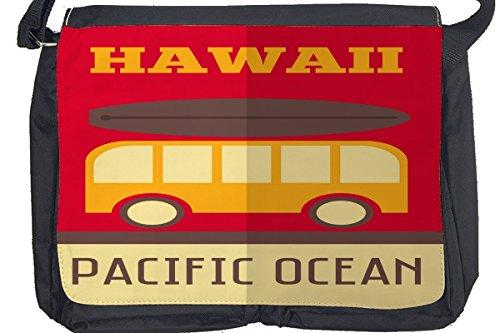 Borsa Tracolla Giramondo Hawaii Stampato