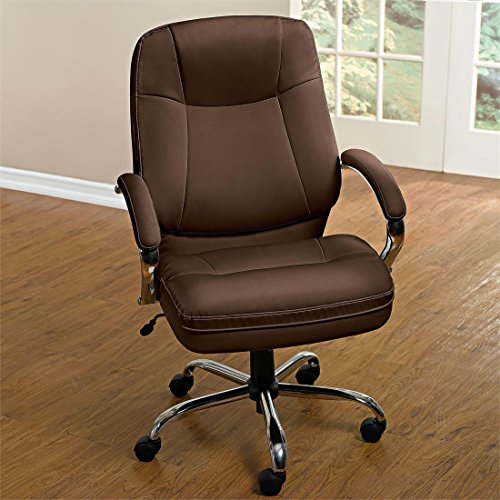 brylanehome-extra-wide-womans-office-chair-brown0