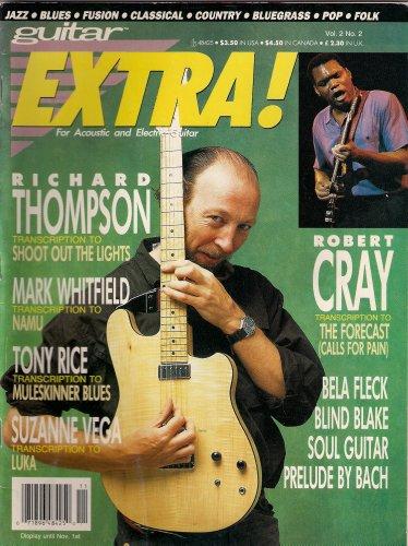 RICHARD THOMPSON GUITAR EXTRA OCTOBER 1991 ROBERT CRAY MARK WHITFIELD!