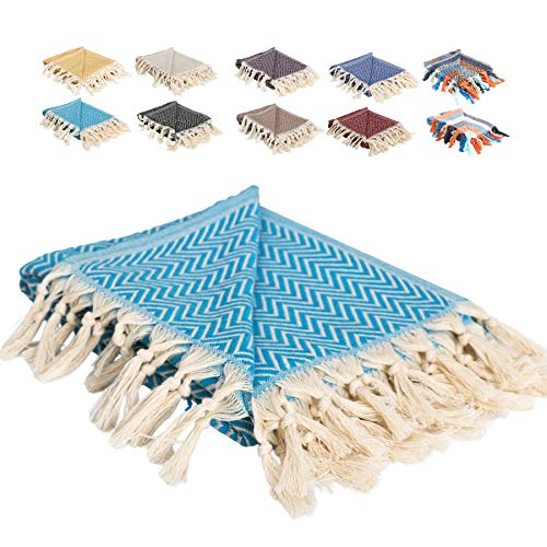 Original Turkish Throw Blankets, 100% Cotton Turkish Beach Blanket, Turkish Blankets and Throws, Turkish Towels, Decorative Throw Blanket Boho Decor, Bohemian Throw Blanket, Farmhouse Throw Blanket