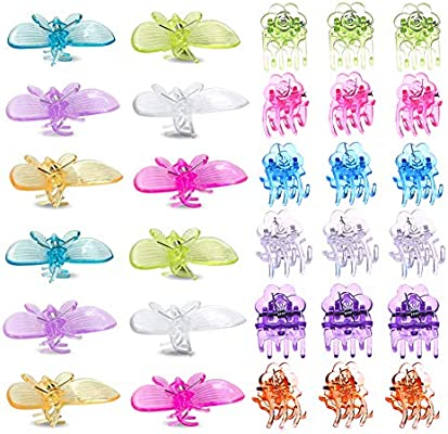 Amazon Com Adasea 90 Pcs Plant Clips Butterfly Orchid Clips
