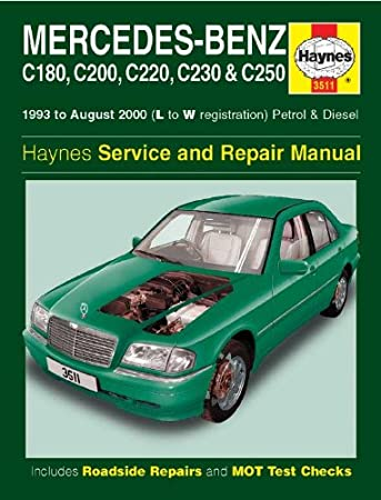 haynes 3511 service and repair workshop manual amazon co uk car rh amazon co uk mercedes c200 w203 workshop manual mercedes benz c200 workshop manual free
