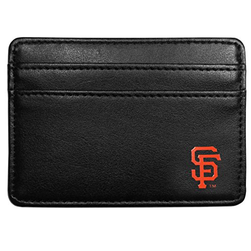 MLB San Francisco Giants Leather Weekend Wallet, Black