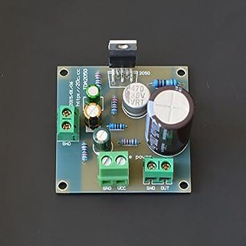 Generic Single power supply board TDA2050 amplifier: Amazon ... on