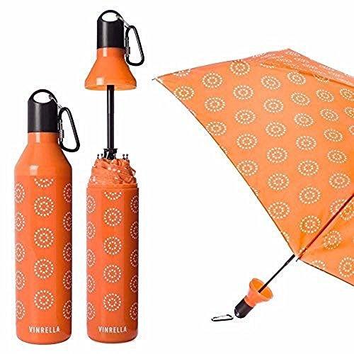 Melon Wine (Vinrella Fashion Umbrella Water Bottle Design Melon Burst)