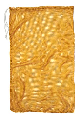 "Champion Sports Mesh Equipment Bag, Yellow, 24"" x 36"""