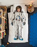 Astronaut Duvet Cover and Pillow Case Set for Kids by SNURK – Twin