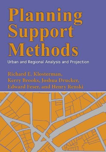 Book cover from Planning Support Methods: Urban and Regional Analysis and Projection by Richard E. Klosterman