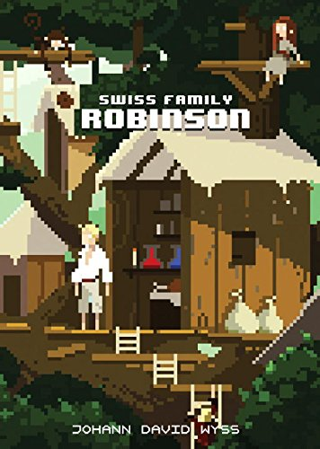 Book cover for The Swiss Family Robinson