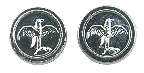 Numrich Falcon Bird Grip Medallion Set