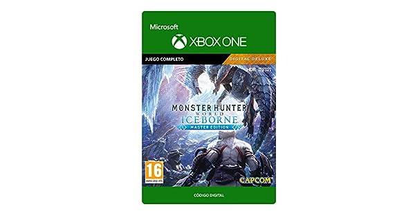Monster Hunter World: Iceborne Master Edition Digital Deluxe Deluxe | Xbox One - Código de descarga: Amazon.es: Videojuegos
