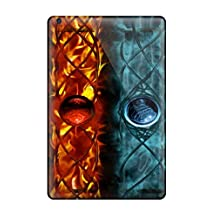 Hot Style JXgxCTP828iNdTz Protective Case Cover For Ipadmini/mini 2(spirit Artistic Colors Ice Fire Water Earth Wind Elements Abstract Artistic)