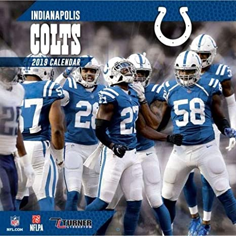 Calendar Wall com amp; Dining Colts 2019 Indianapolis Team Nfl Amazon Kitchen