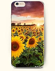 OOFIT iPhone 6 Case ( 4.7 Inches ) - Lots of sunflowers blooming under the sun by icecream design
