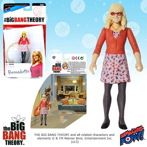The Big Bang Theory Bernadette 3 3/4-Inch Figure Series 1