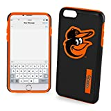 MLB Baltimore Orioles IPhone 6 Plus Dual Hybrid Case (2 Piece), Black