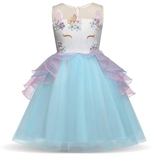 Vestido de Princesa para niñas Grandes para niños Las niñas ...