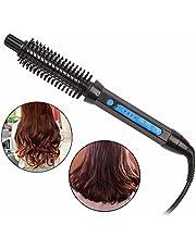 Rizador de pelo portátil 3 en 1, pinza para rizar pelo corto y largo con