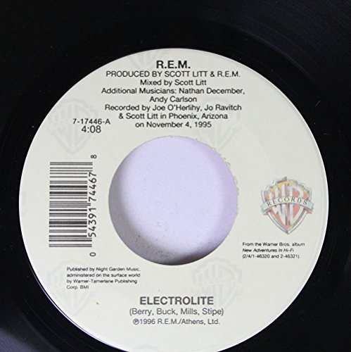 R.E.M. - R.e.m. 45 Rpm Electrolite / The Wake-Up Bomb-Live - Zortam Music
